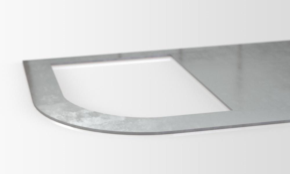 Pletinas cortadas por láser