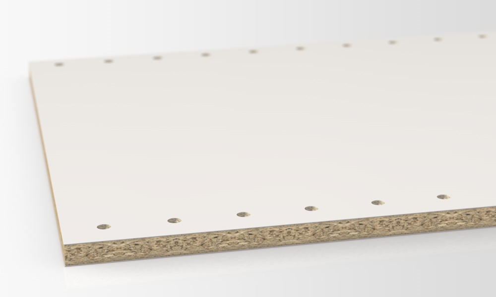 Boards with Bore Holes