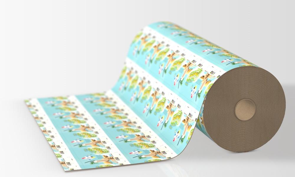 Bandas de papel y de cartón